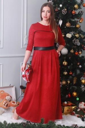 Плаття  26206 червоний