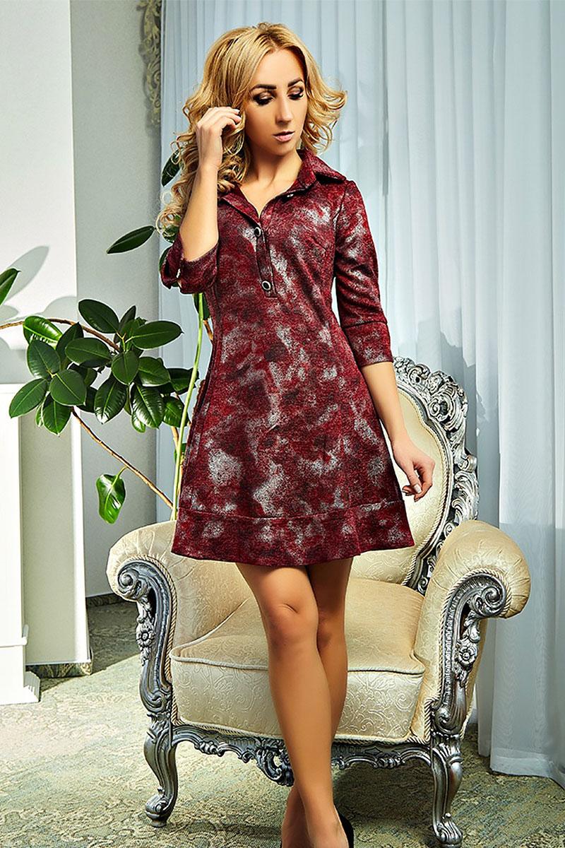 3cd33180aeb5cd Купити плаття Рената AD18801 бордове від виробника з доставкою у ...