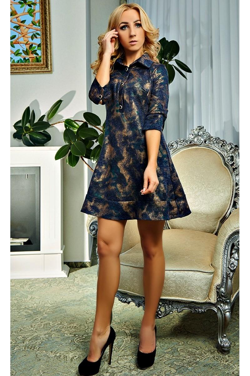 9ca2ecfafafdaac Купить синее платье Рената AD18803 недорого от производителя с ...