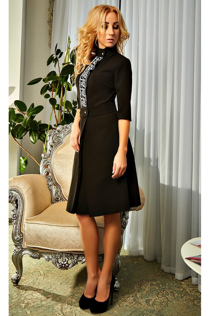 Купити Оригінальне плаття чорного кольору 2018 Камілла AD20003 від ... 9ca02178f1454