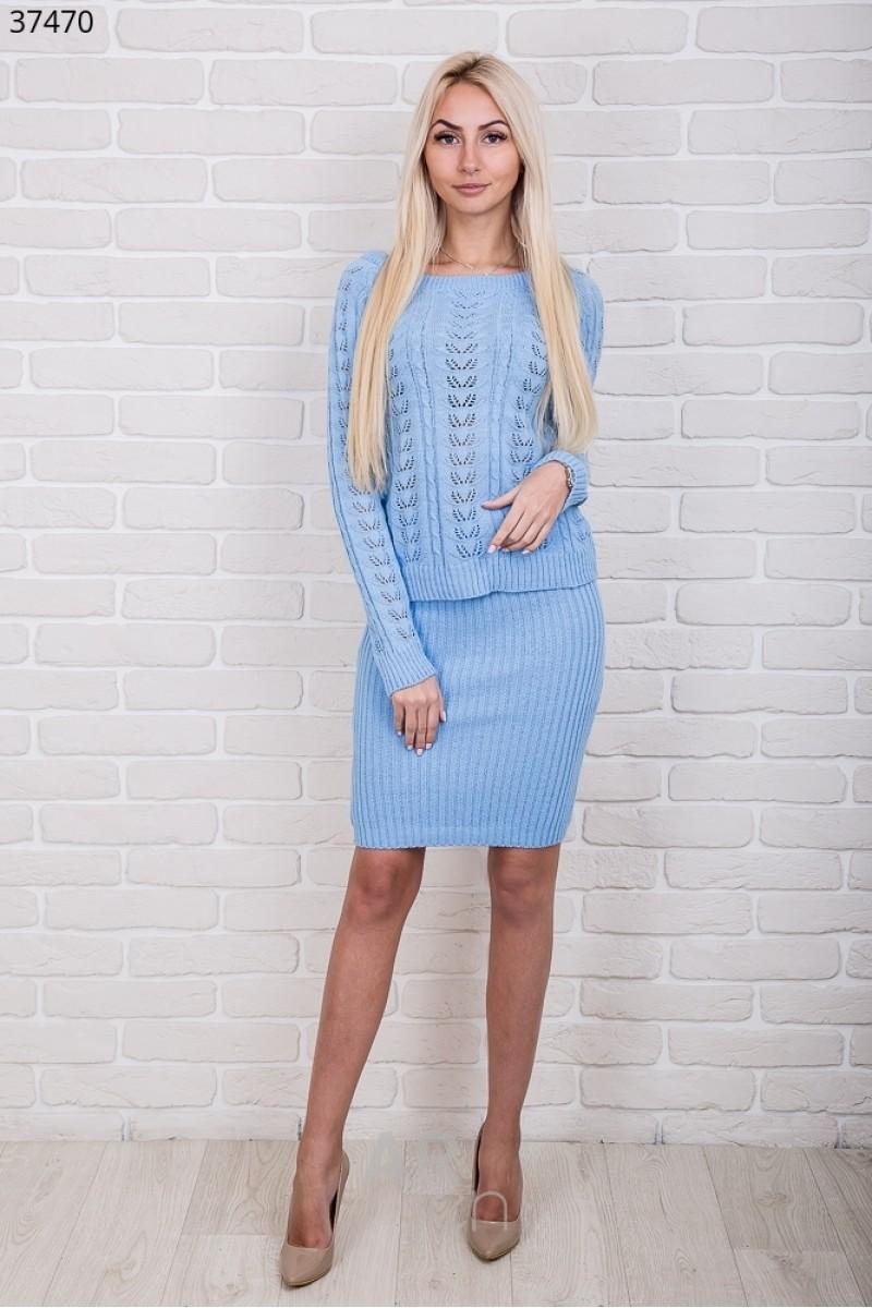 Купити блакитний в язаний костюм 2018 AR3747001 від виробника з ... 84943abb4a652