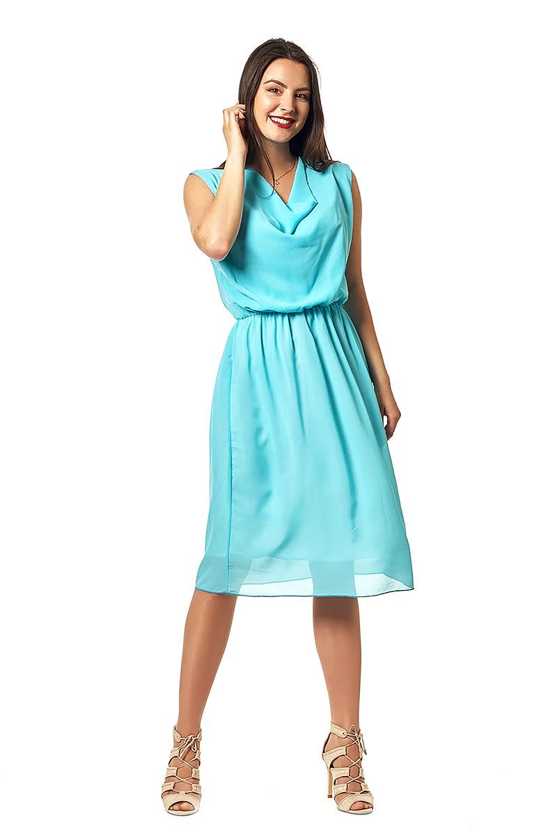 68fe9e711deea8 Купити шифонове блакитне плаття Стефані EM16610 недорого від ...