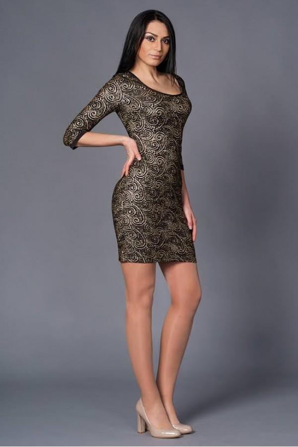 Платье Шери 174 золото