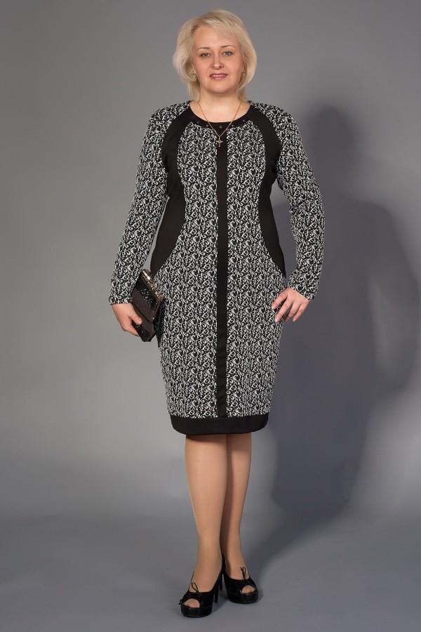 Платье Марго 167 чёрный