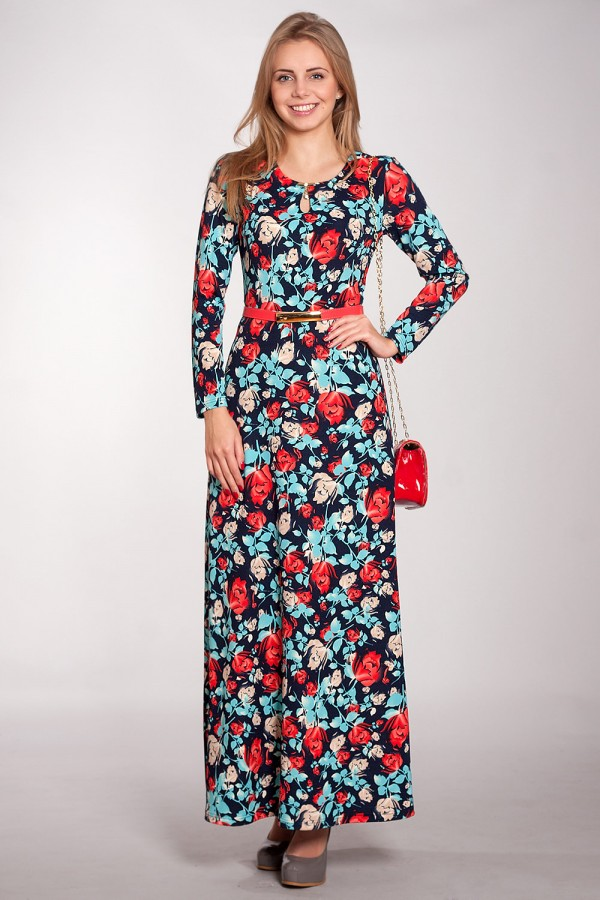 Плаття Зафіра 164 темно-синій