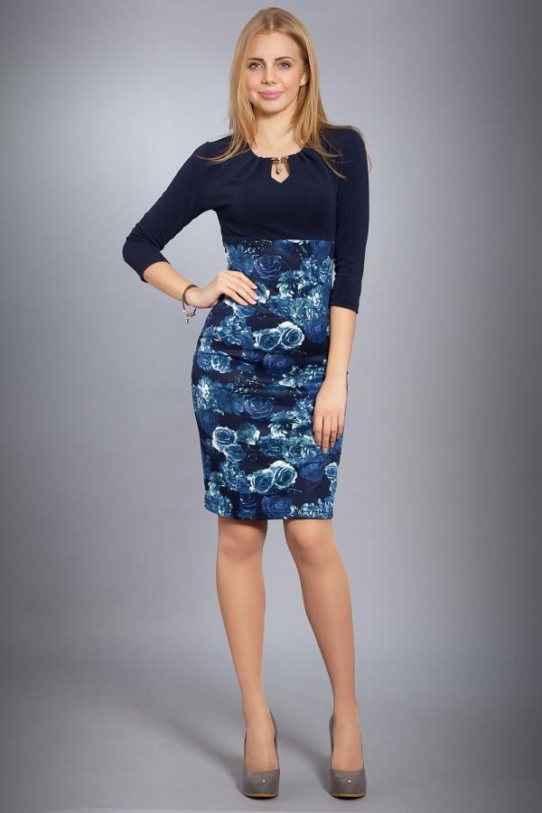 Плаття Верона 166 синій