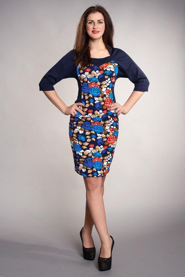Плаття Петті 179 синій
