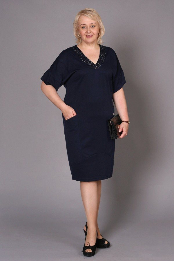 Платье Эсмеральда 181 тёмно-синий