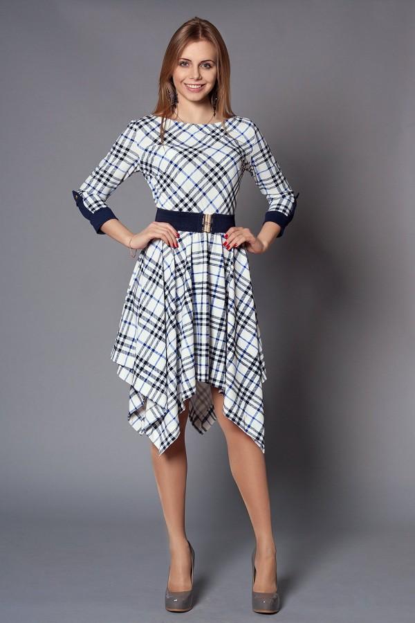 Платье Норин 184 белый