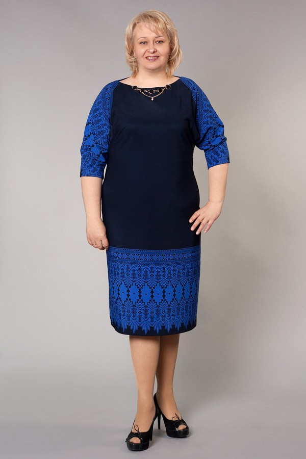Плаття САМІД 188 синій