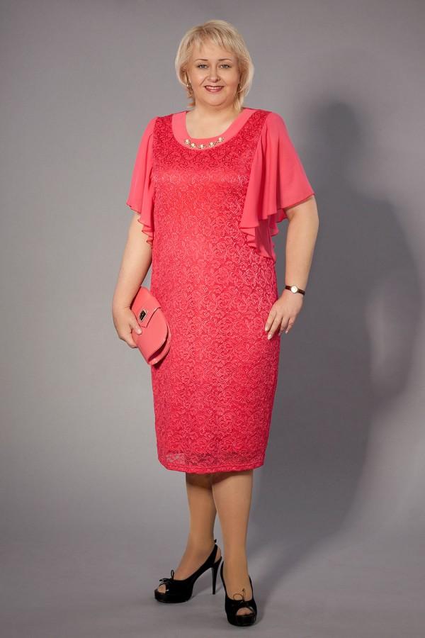 Платье Джулия 197 коралл