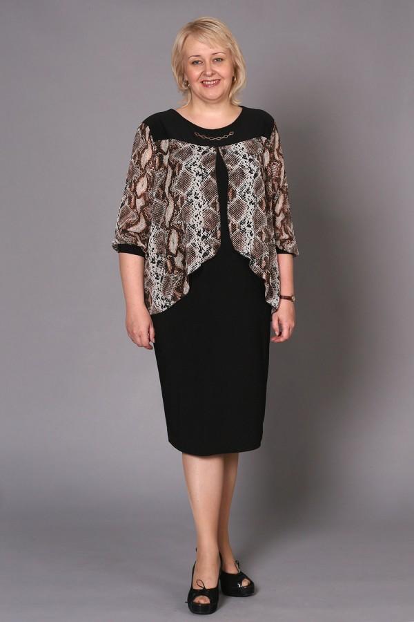 Платье Мерелин 199 коричневый