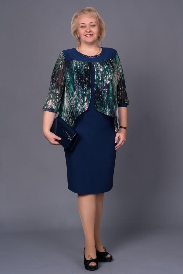 Плаття Мерелін 199 новий синій