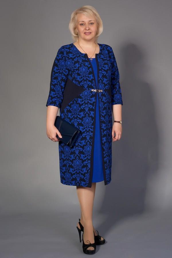Платье Хильда 202 электрик