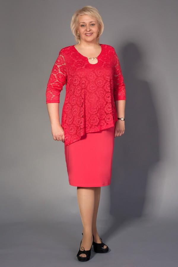 Платье Ирма 205 коралл