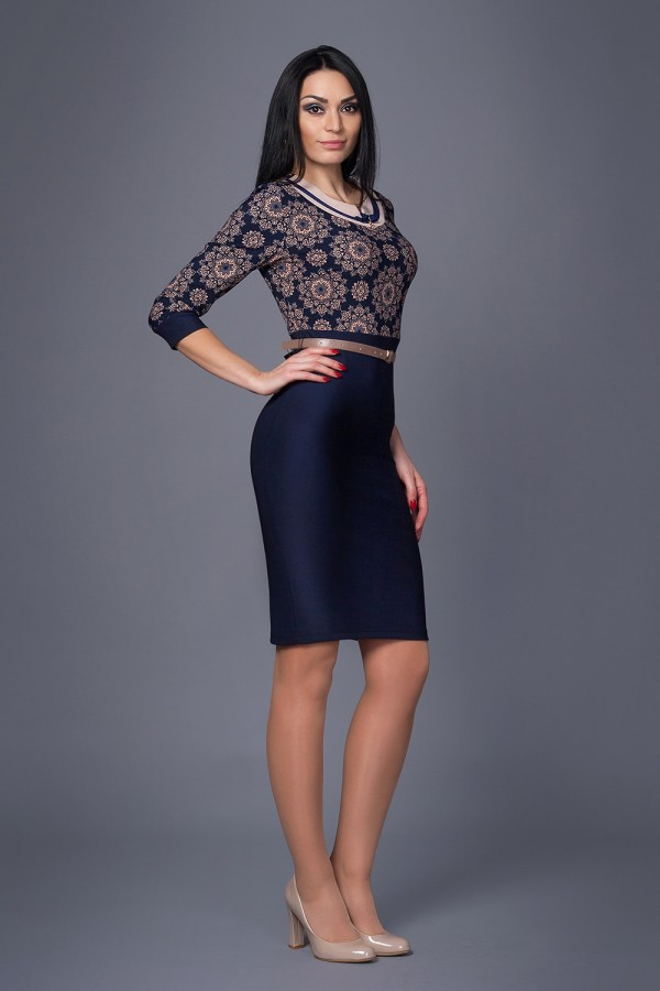 Плаття Жасмин 208 капучино