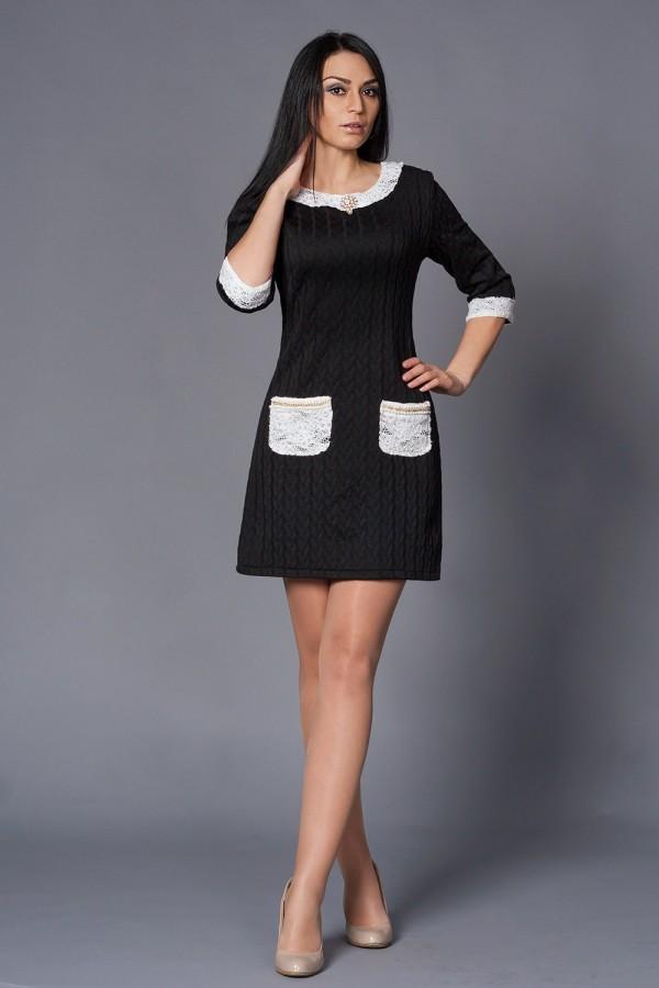 Платье Шанель 211 чёрный