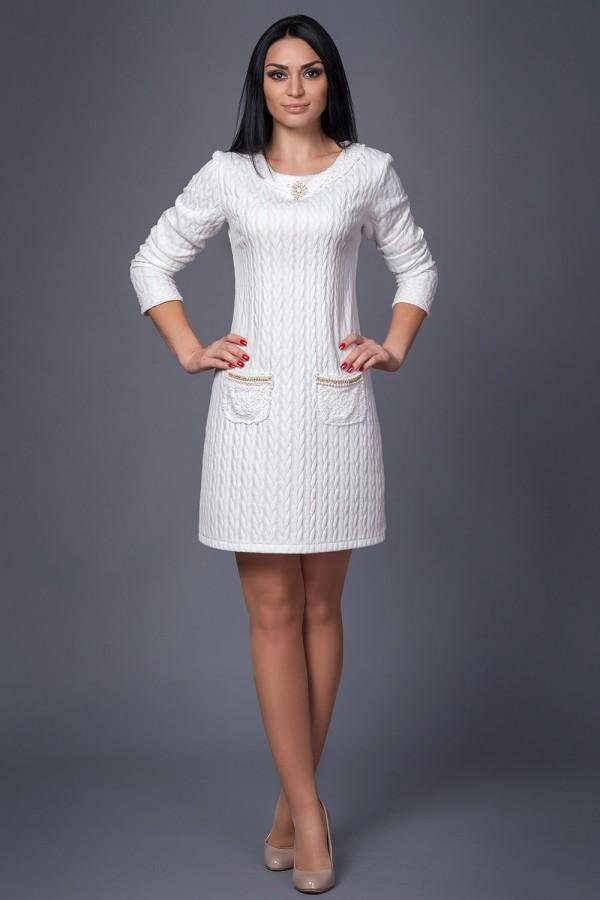 Платье Шанель 211 белый