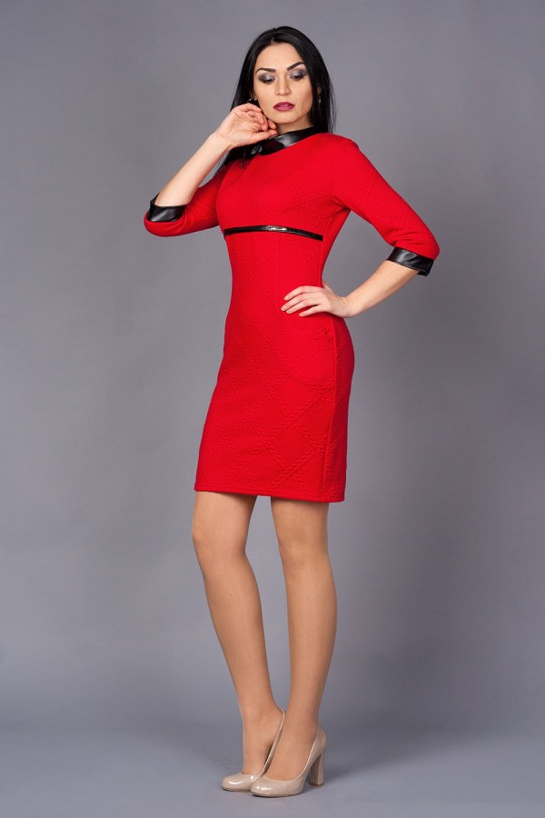 Платье Николь 214 красный