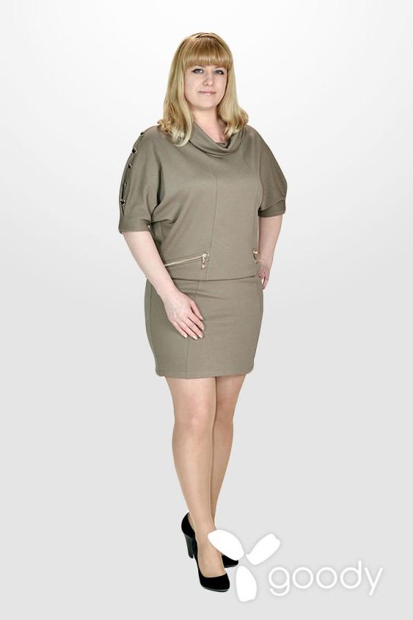 Платье Петек капучино
