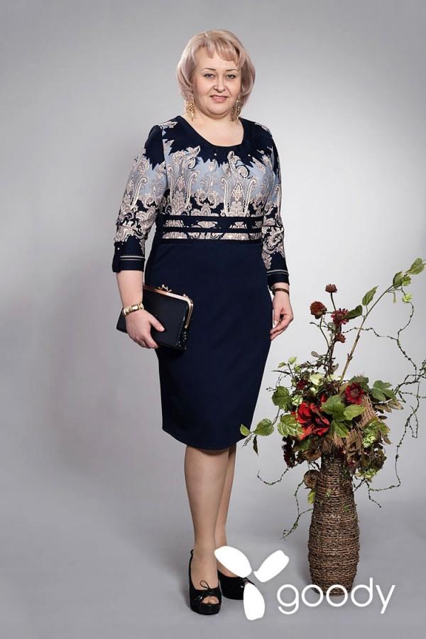 Платье Мери 117 серый