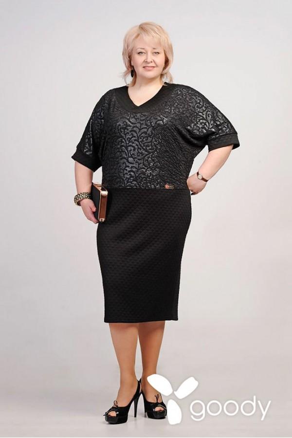 Платье Рима 137 чёрный