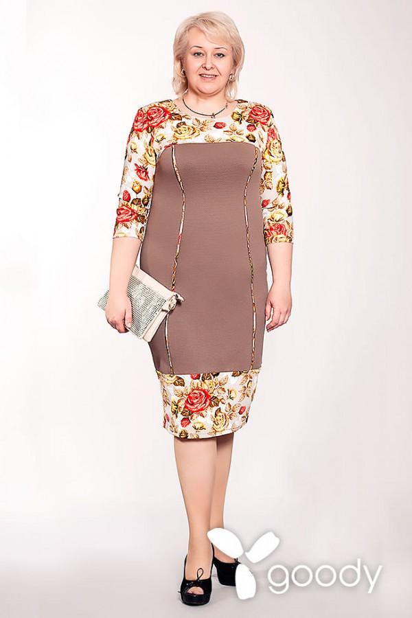 Платье Лайт 158 капучино