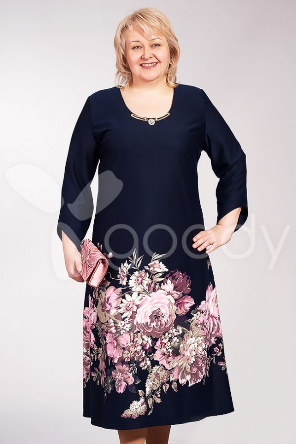Плаття Прима 178 темно-синій