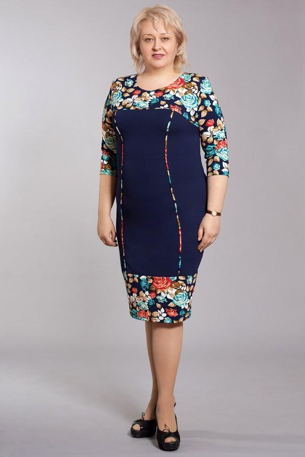 Плаття Лайт 158 синій