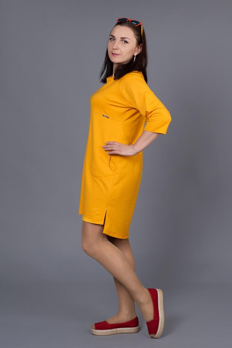 Купити Плаття Еліс 229 помаранчевий VN22904 недорого (за 378грн ... 1f63db6cc88a8