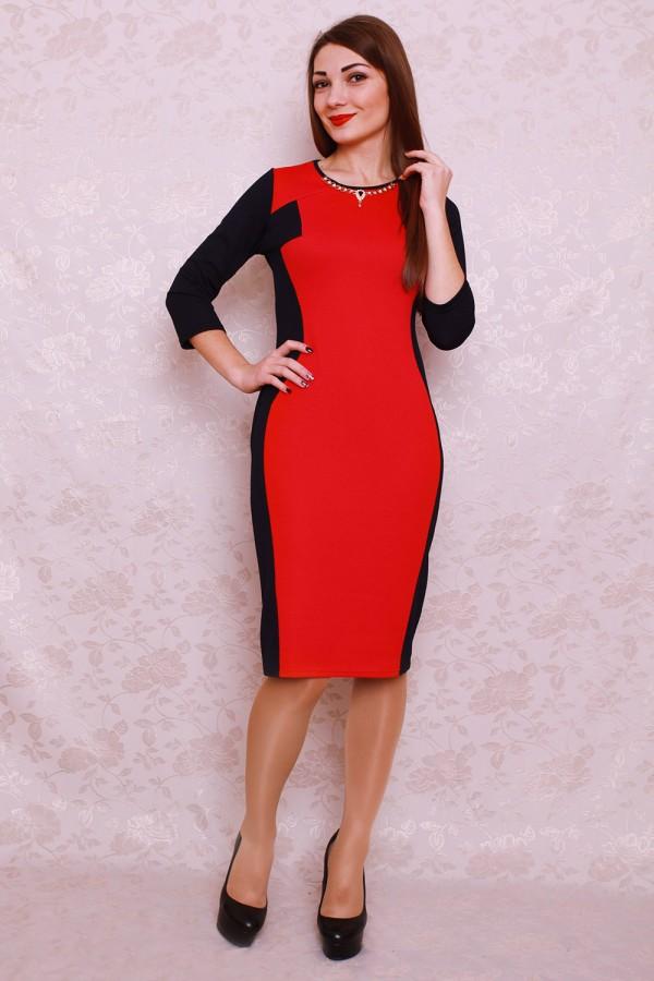 Плаття 403 червоний