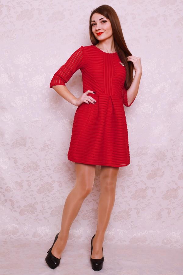 Плаття 402 червоний