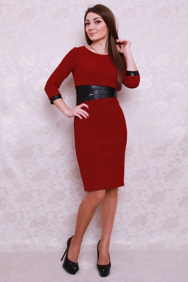 Плаття 422 червоний