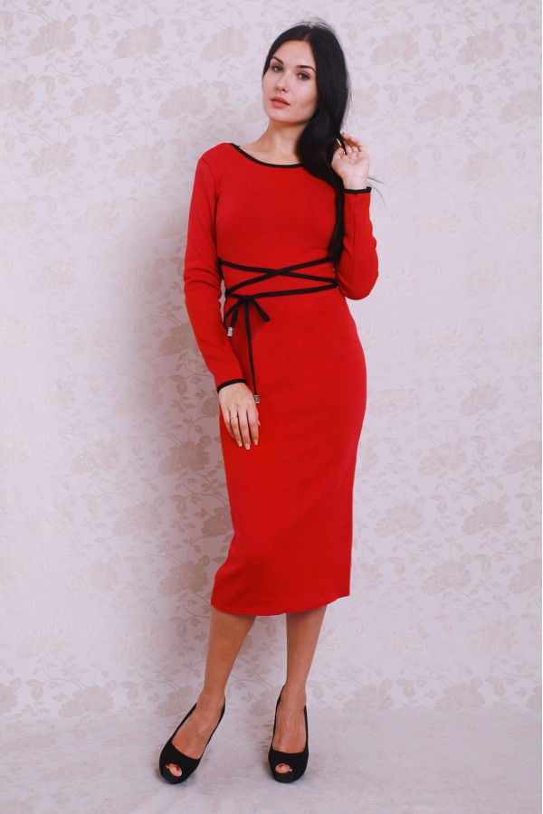 Плаття 377 червоний