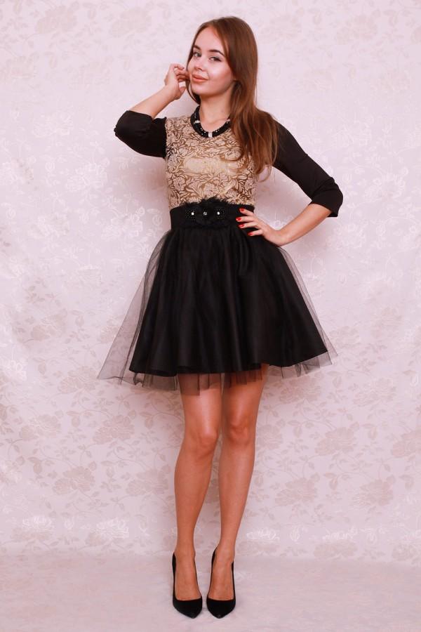 Платье 407 беж