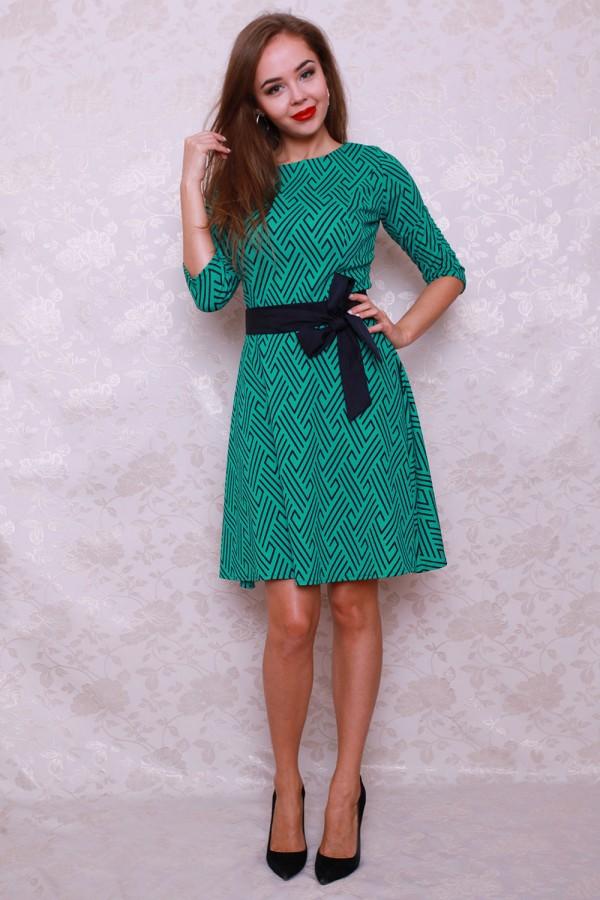 Платье 443 зелёный