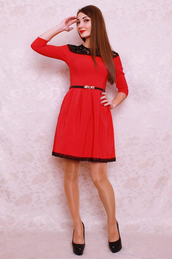 Плаття 401 червоний