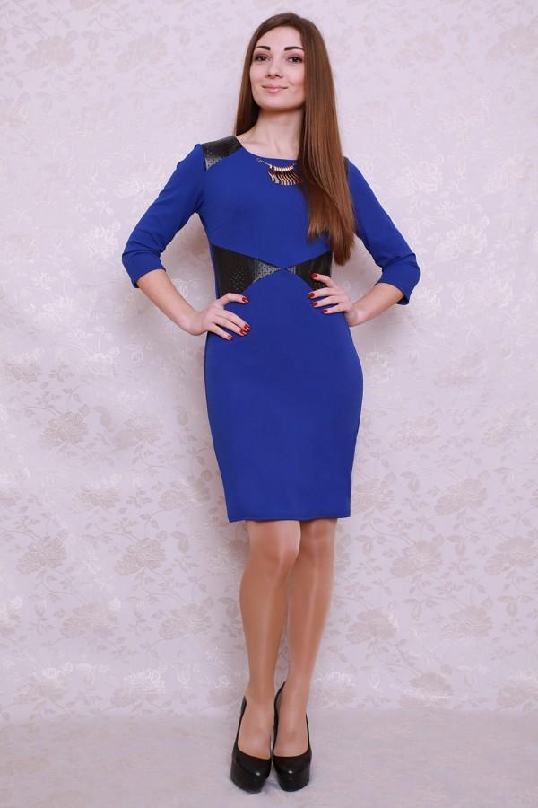 Платье 424 электрик