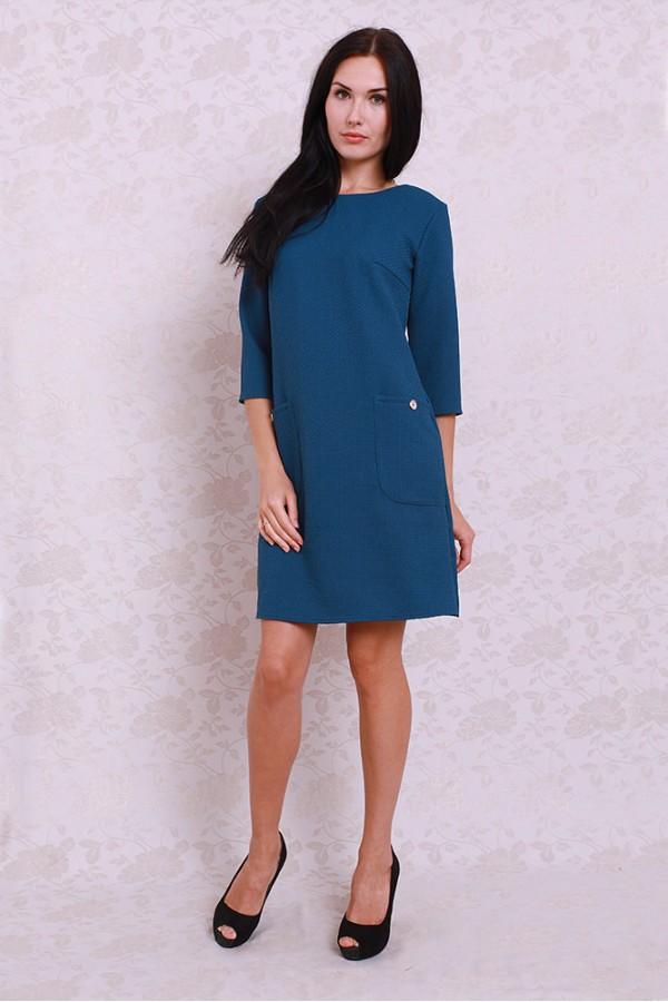 Платье 359 морская волна