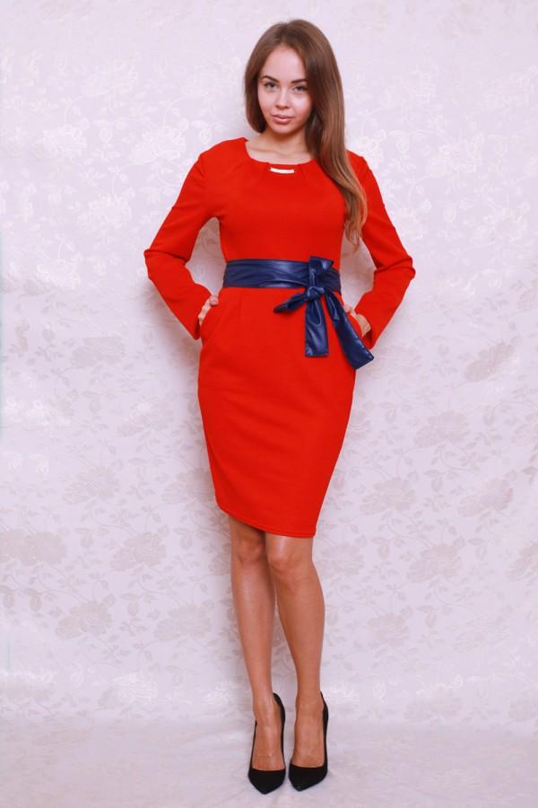 Плаття 384 червоний