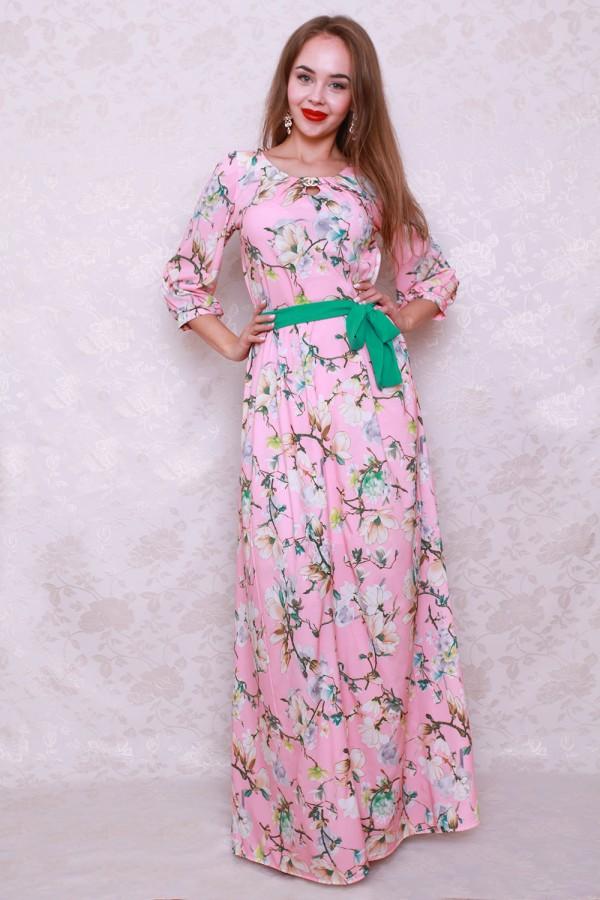 Платье 438 розовый