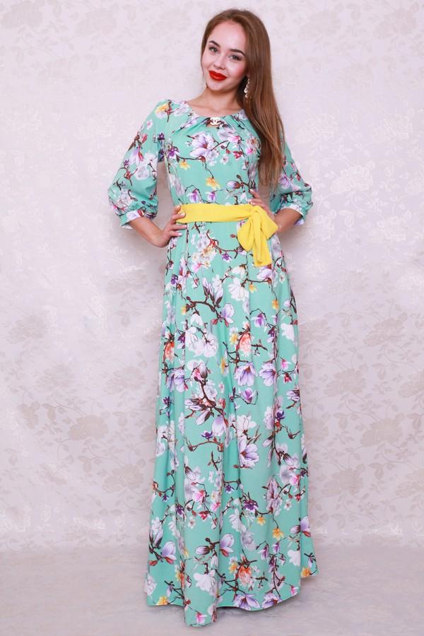 Платье 438 мята