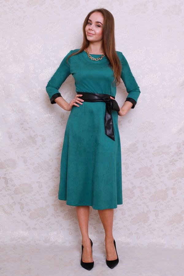 Платье 416 зелёный