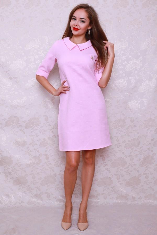 Плаття 439 рожевий