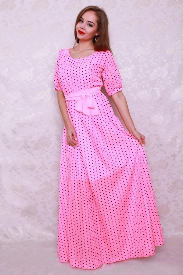 Плаття 354 рожевий