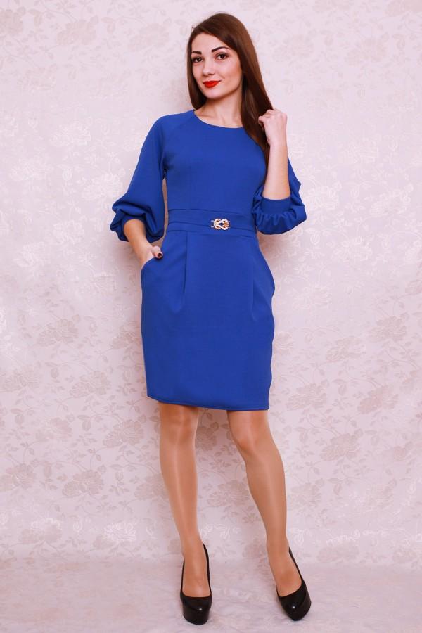 Платье 399 электрик