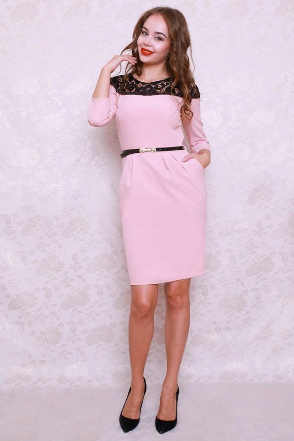 Плаття 428 рожевий