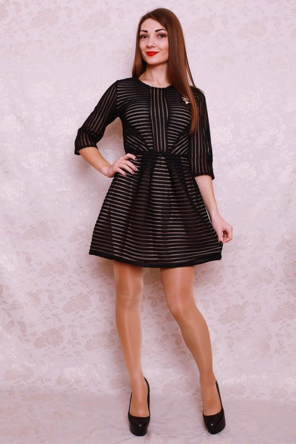 Платье 402 чёрный