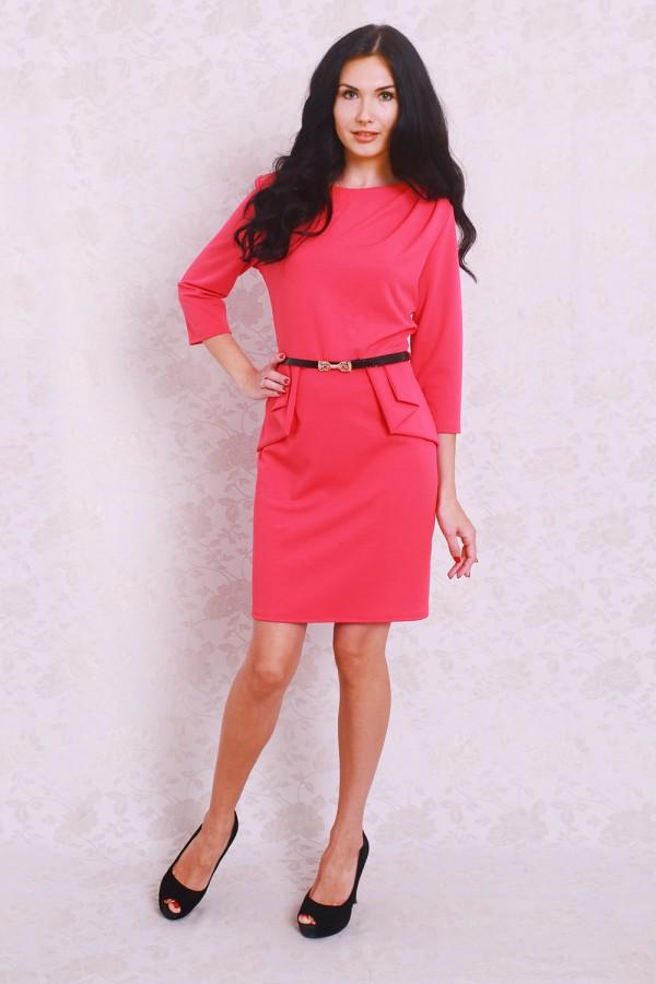 Платье 365 коралл