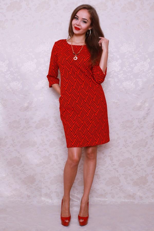 Платье 440 красный